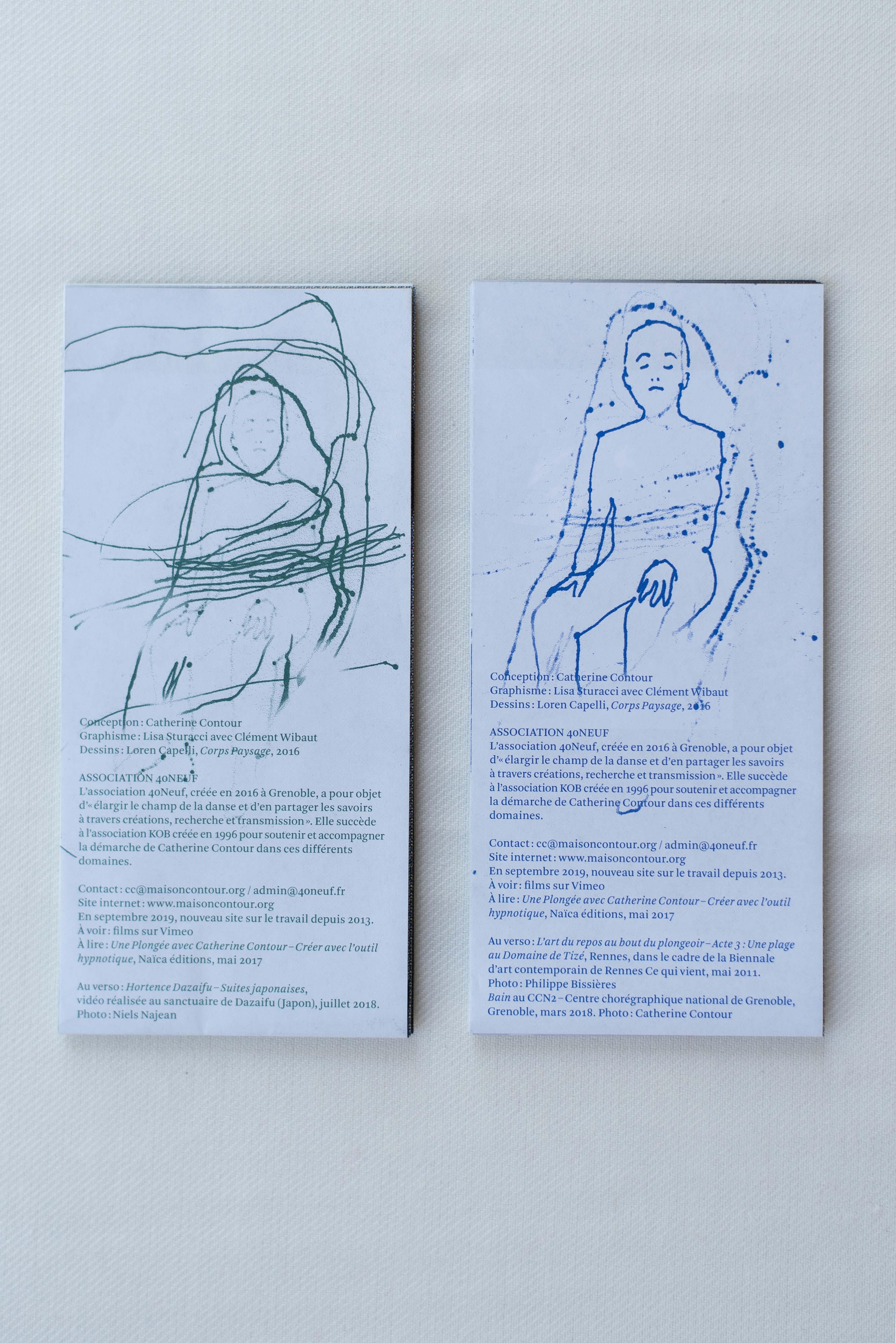 Cartes de position artistique (2019)